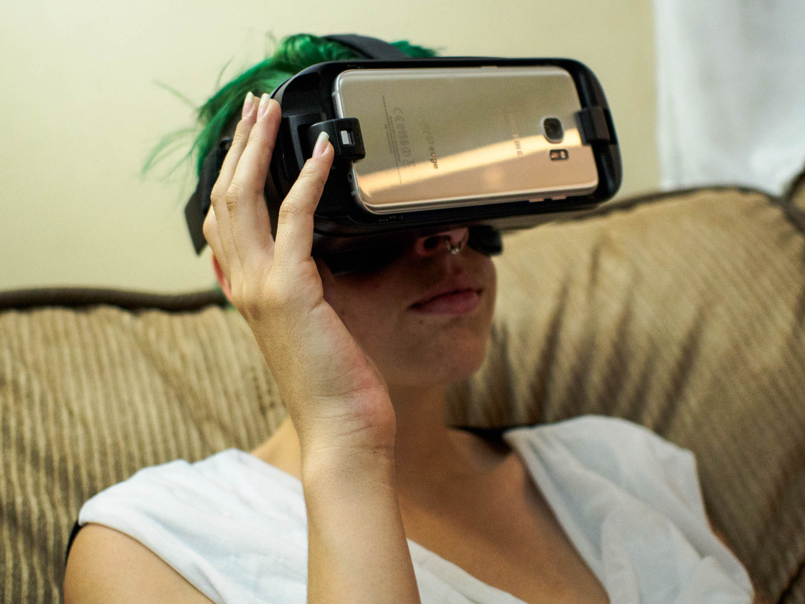 Vr headset and ready mobile porn