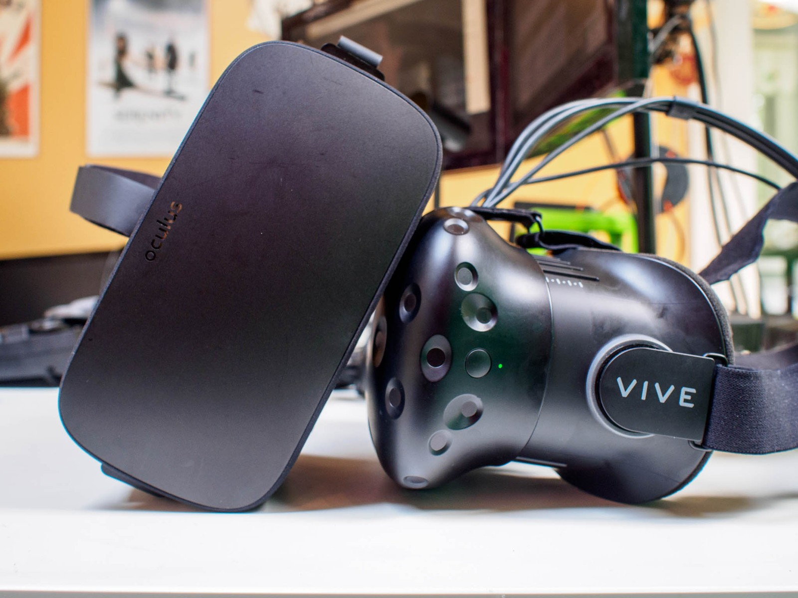 Rift and Vive