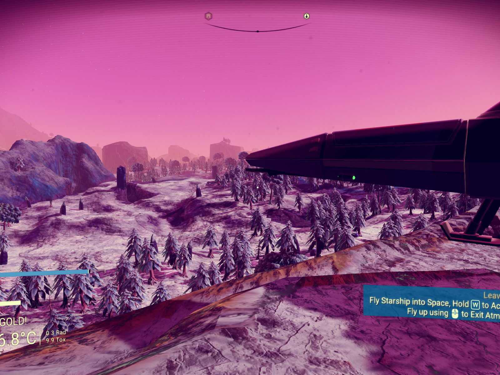 You can technically play No Man's Sky in VR, but you probably won't want to