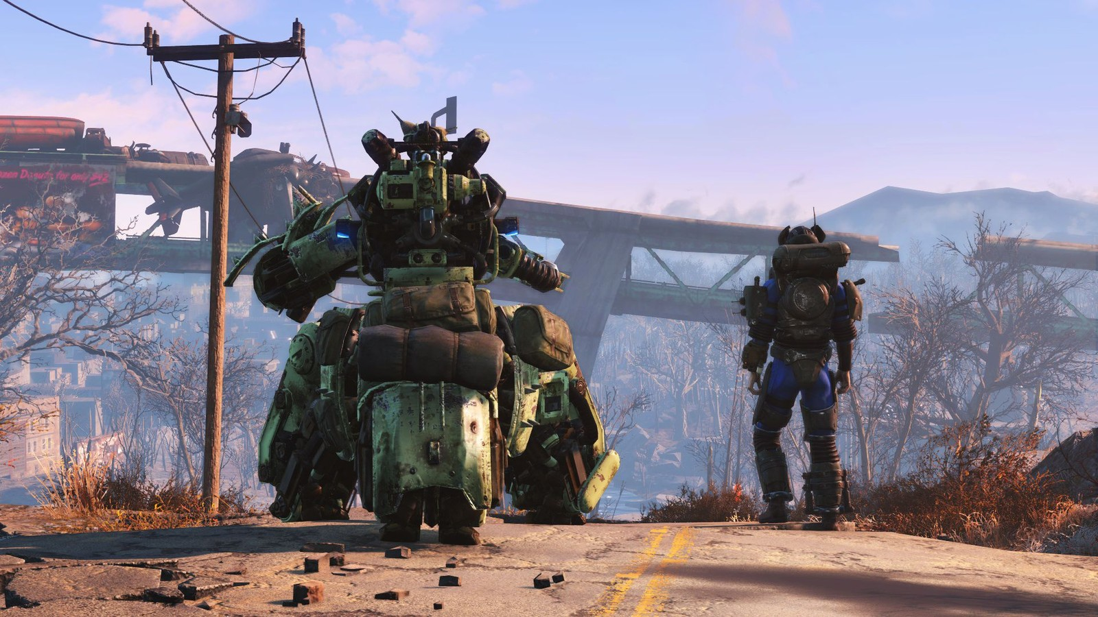 Exploring Fallout 4's wasteland with the Wizdish ROVR treadmill