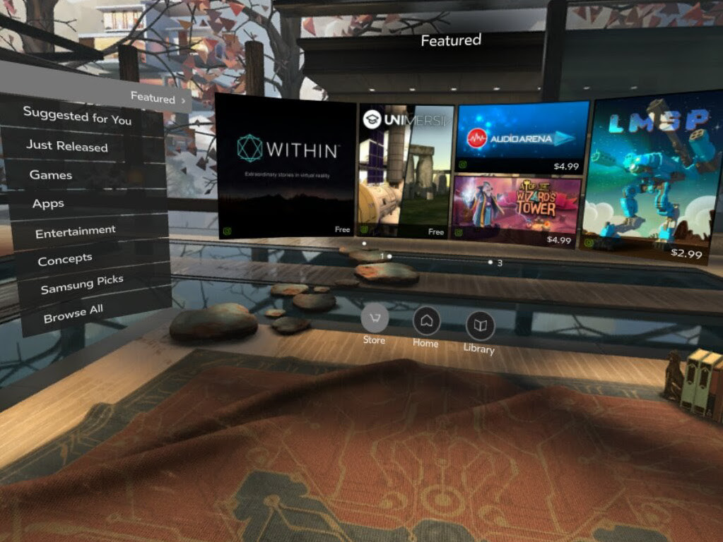 How to use Oculus Home without a credit card