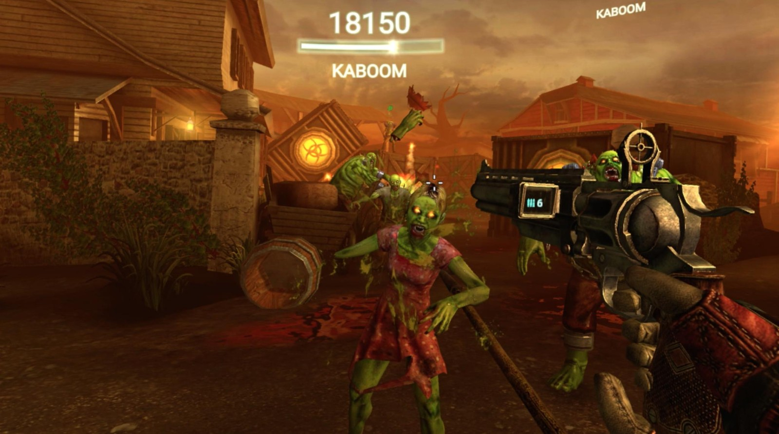 Drop dead is the golden standard for fps games on gear vr vrheads