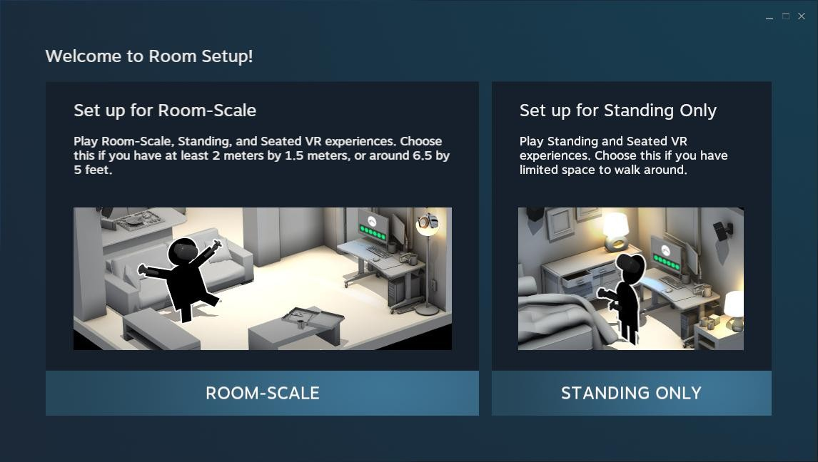 How to set up your HTC Vive for standing use only | VRHeads