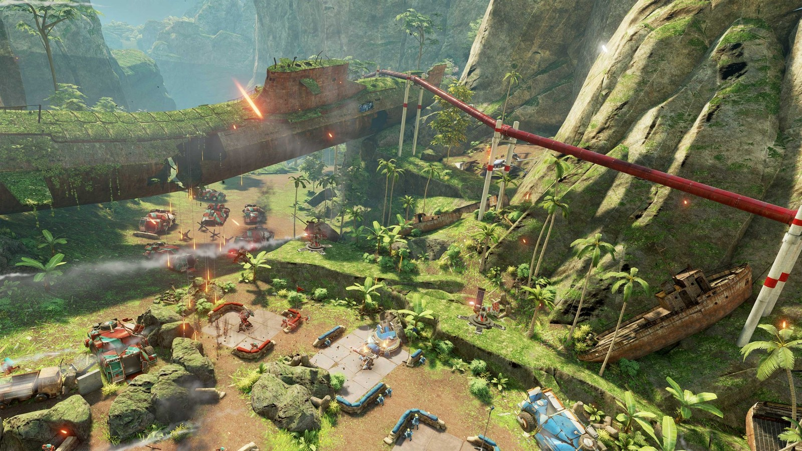 Landfall review: RTS meets shooter in this beautiful Rift title