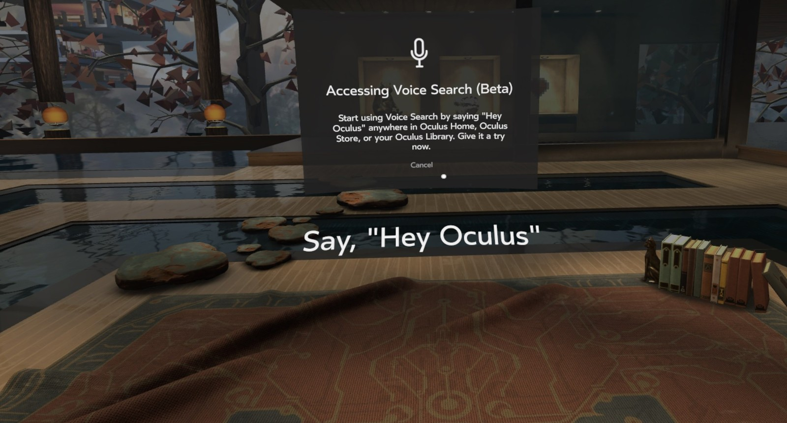 How to use Oculus Voice with your Rift