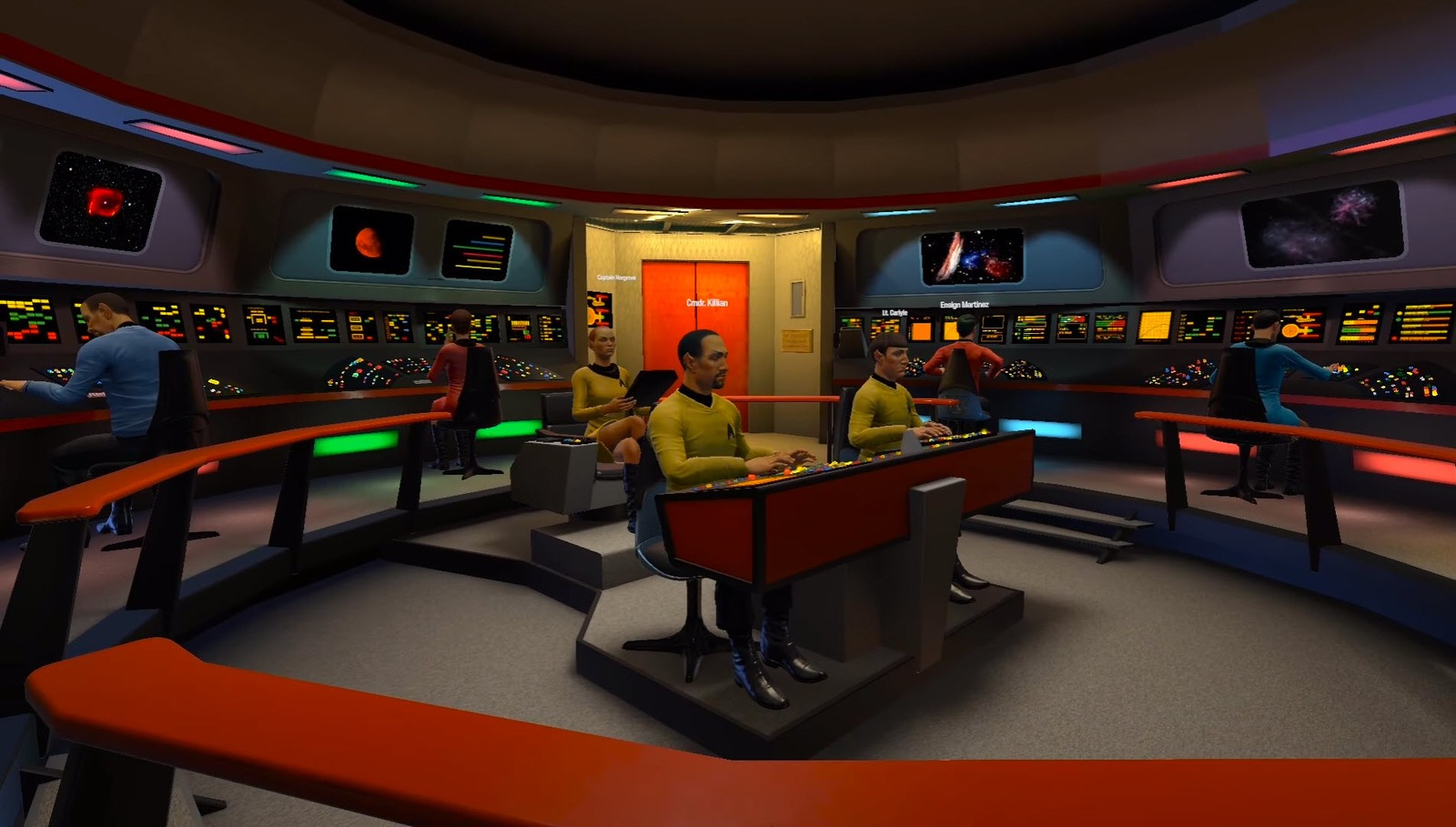 Star Trek: Bridge Crew - How to run the whole bridge on ...