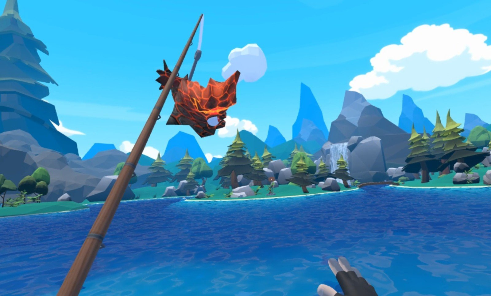 Best htc vive games that can be played sitting down vrheads for Crazy fishing vr