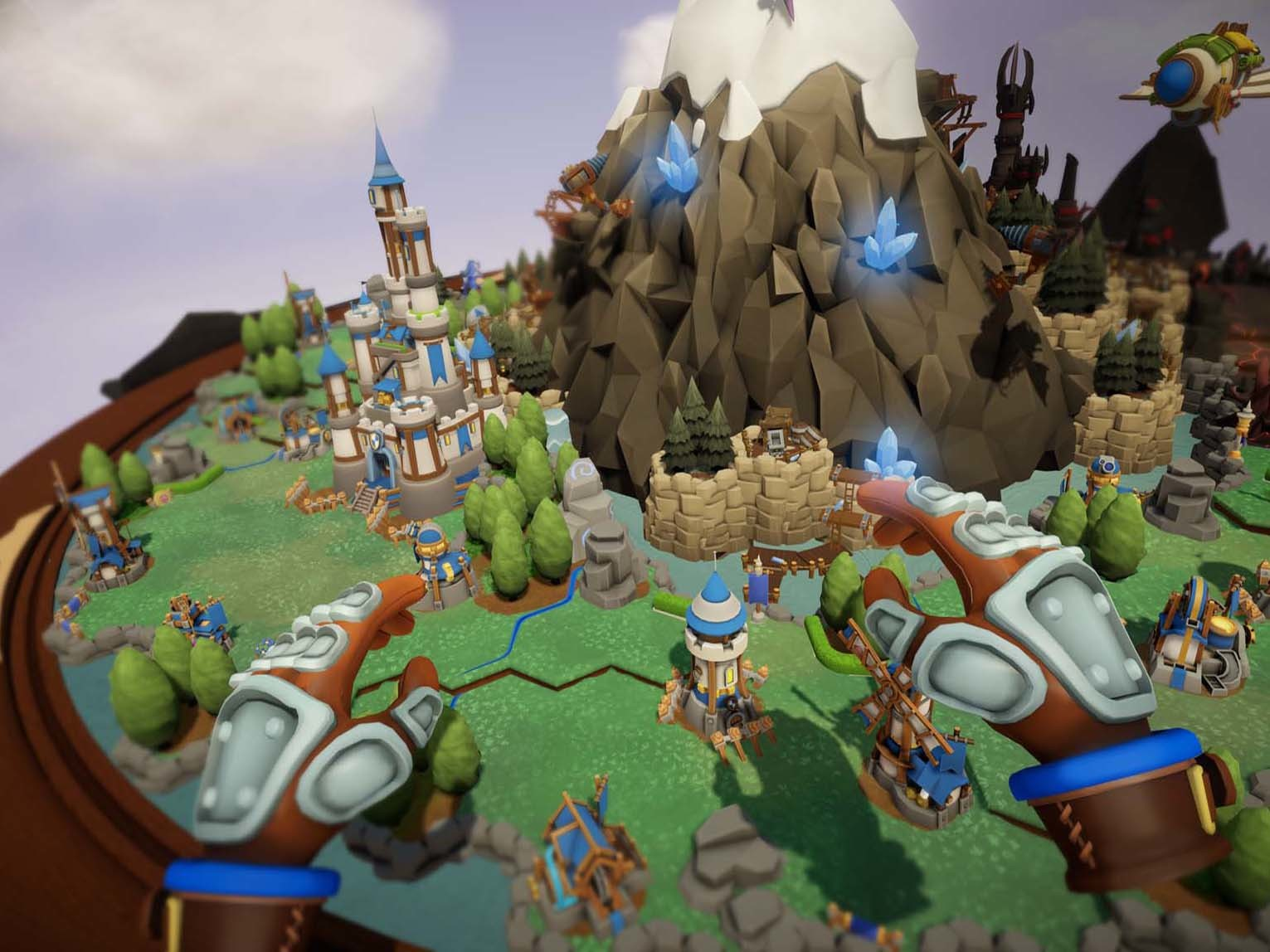 Skyworld review: A solid attempt at VR strategy