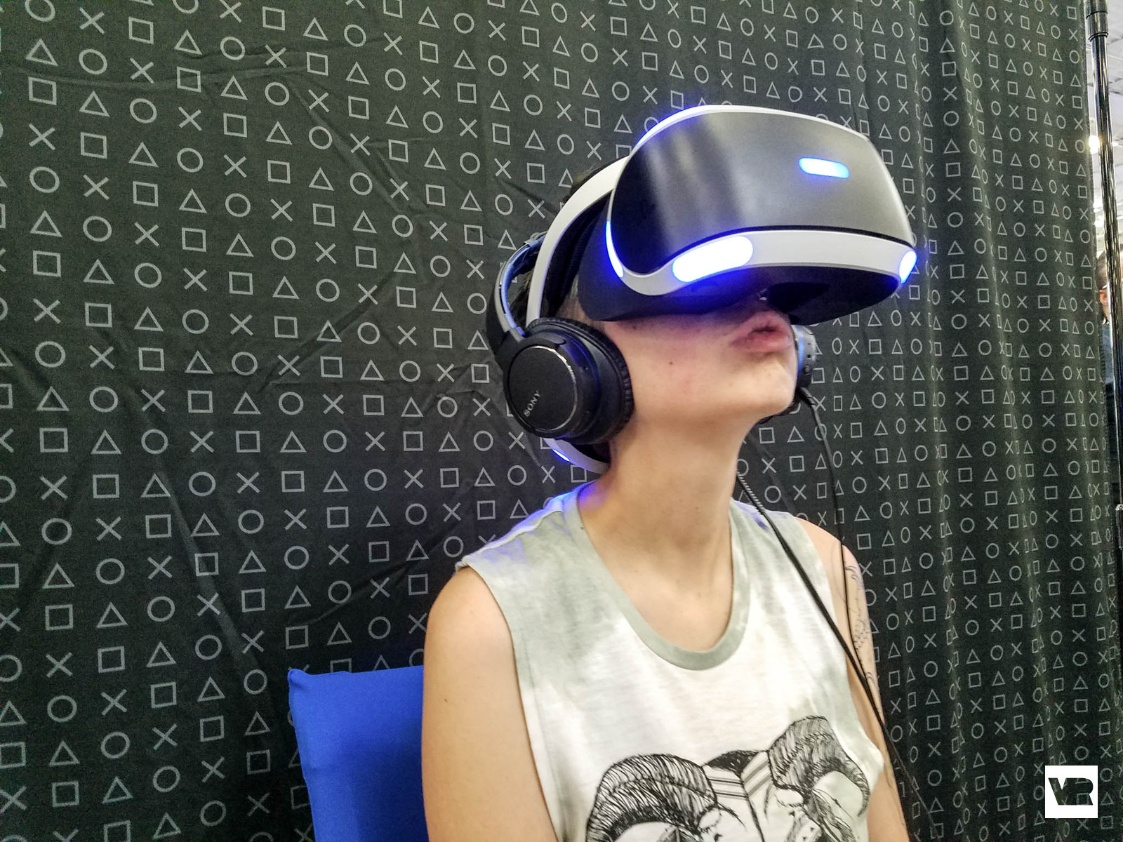 Jen in PlayStation VR