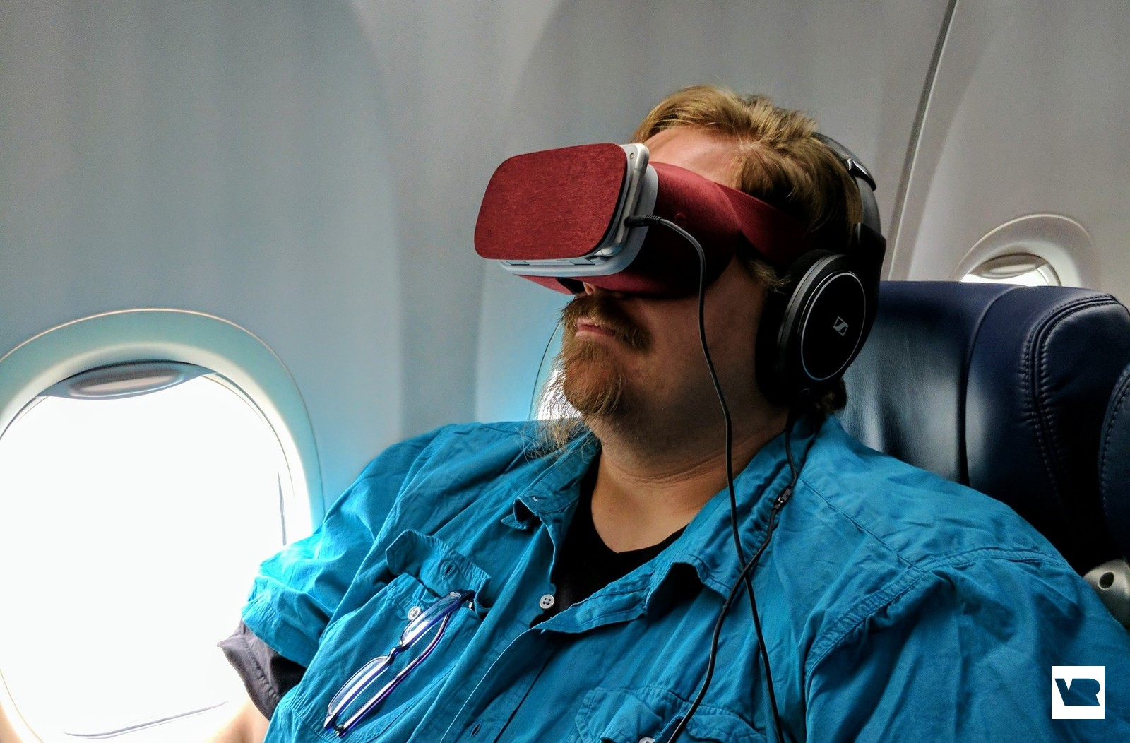 Flying with VR